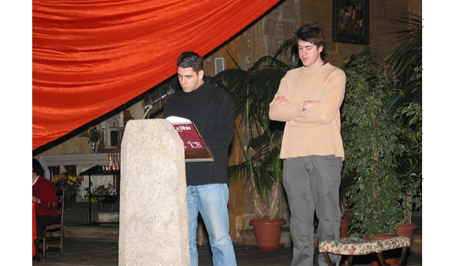 Limoges 2005 : lecteur et son témoin
