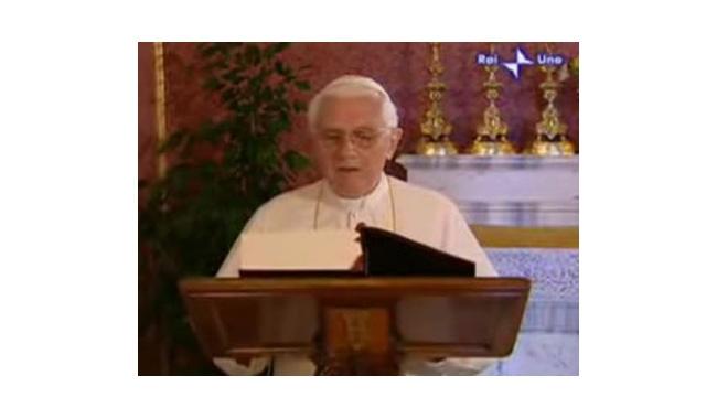 Rome 2008 : Sa Sainteté le Pape fait l'ouverture de « la Bible en continu »